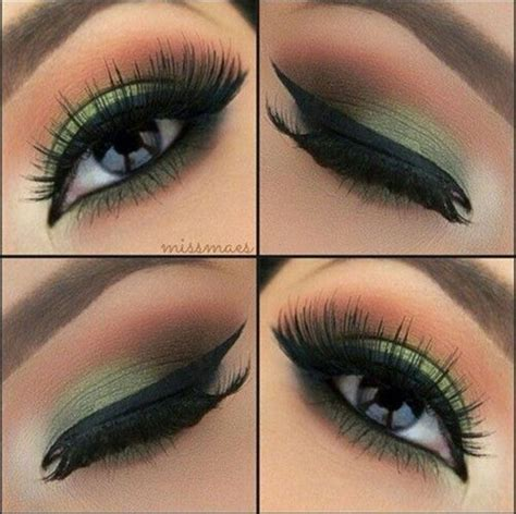 Eyeshadow Wardah Smokey top 10 simple smokey eye makeup tutorials for green makeup inspirations