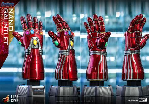 avengers endgame hot toys life size nano gauntlet