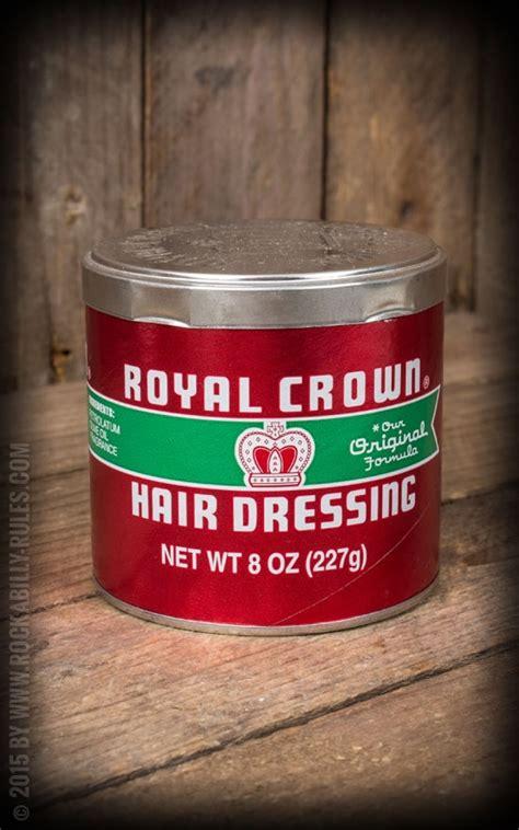 Pomade Royal Crown royal crown hair dressing pomade 227gr
