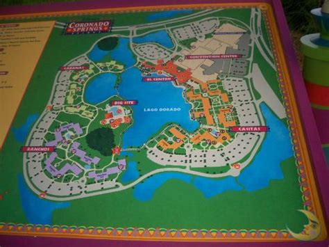 coronado springs resort map map of resort picture of disney s coronado springs resort orlando tripadvisor