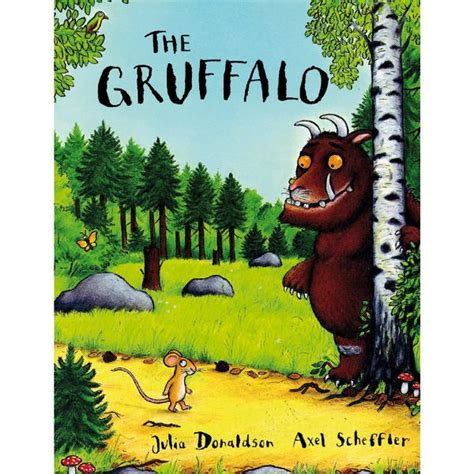 the in the picture a novel books the gruffalo paperback book the gift experience