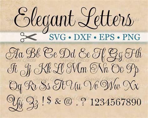the script download elegant script font monogram svg dxf eps png by