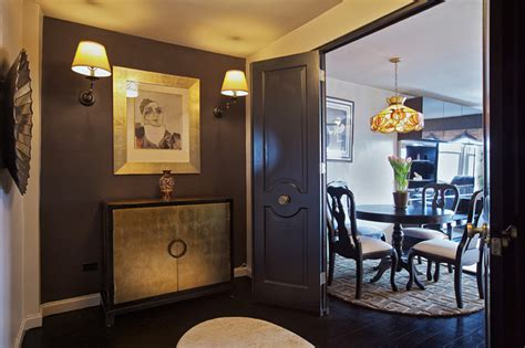 gold room nyc black gold residence eclectic dining room new york by burgos design