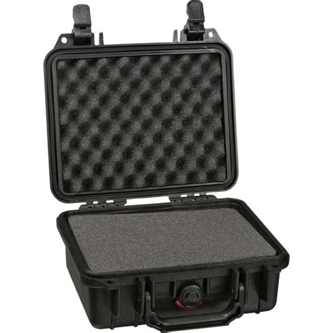 pelican 1200 case with foam black 1200 000 110 b h photo