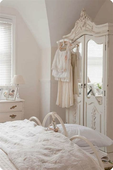 wardrobe armoire 25 shabby chic ideas for a romantic bedroom