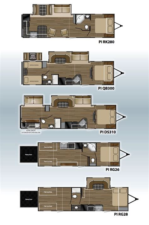 heartland rv floor plans 66 best images about pioneer travel trailer heartland rvs on pinterest knife block