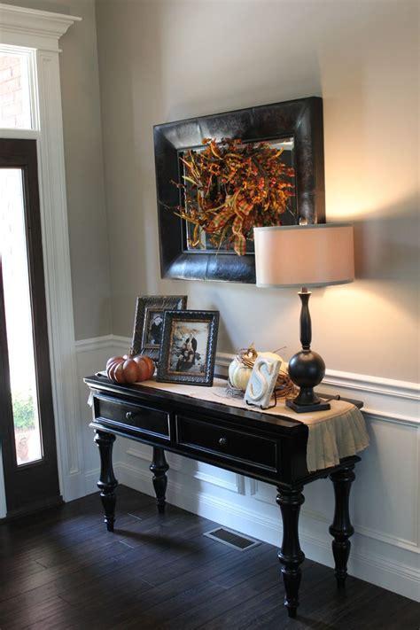fall entry table decor best 25 fall entryway ideas on fall entryway