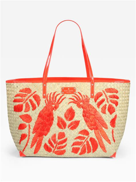 Patent Handheld Shopper Bag At Asos For Kate Moss On A Budget Style by Lyst Kate Spade New York Birds Of Paradise Straw Patent