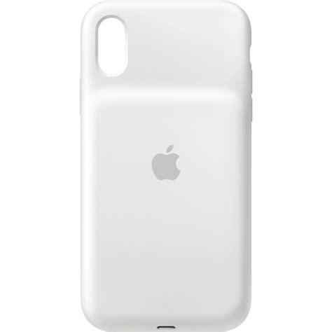 apple iphone xr smart battery case white munlla bh photo