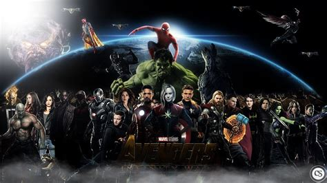 avengers desktop the avengers fan art 12873866 fanpop avengers infinity war hd 2018 wallpapers wallpaper cave