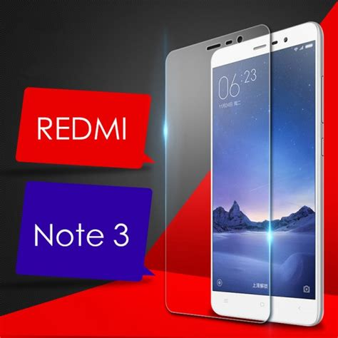 Silver Tempered Glass Xiaomi Note 2 Screen Protector 9h premium tempered glass screen protector screen guard for xiaomi redmi note 3