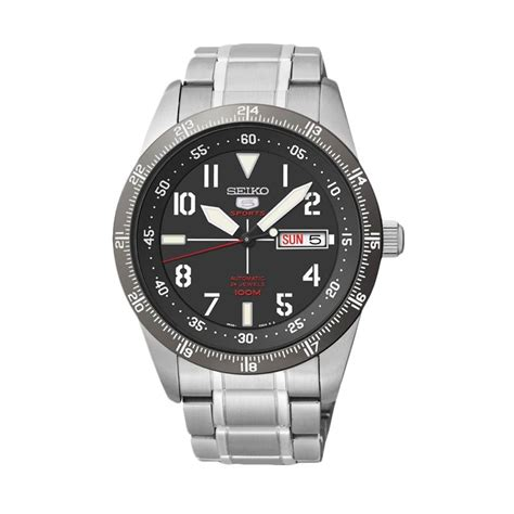 Seiko 5 Sports Mens Srp241k1 Black Jam Tangan Pria Srp241 watchface facer seiko 5 sports srp519k1 androidwatchfaces