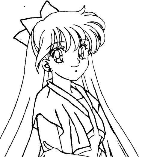 Sailor Venus Coloring Pages sailor venus smile coloring pages for hfb