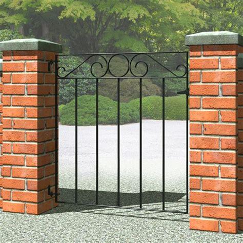 Metal Backyard Gates by Gate Opener Metal Garden Gates