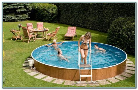 pools for small yards above ground swimming pools for small yards pools home