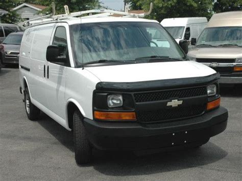 how do cars engines work 2007 chevrolet express 1500 electronic toll collection purchase used 2007 chevy express g2500 professionally equipped work cargo van very clean in
