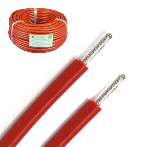 high voltage silicone rubber wire china silicone rubber insulated high voltage fixing wires