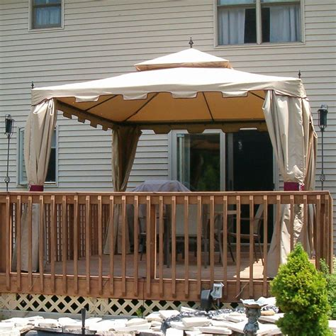 Menards Awnings by Backyard Creations 13 X 10 Gazebo 2017 2018 Best Cars