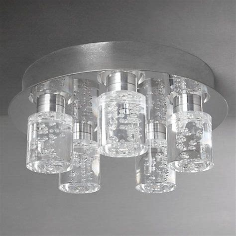 argos led pin bubble buy lewis flush led 5 ceiling light at johnlewis lighting