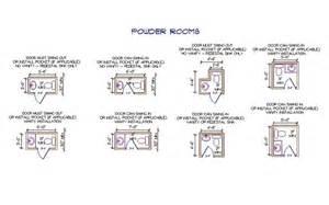 Size Of Powder Room Powder Room Sizes Revit Pinterest