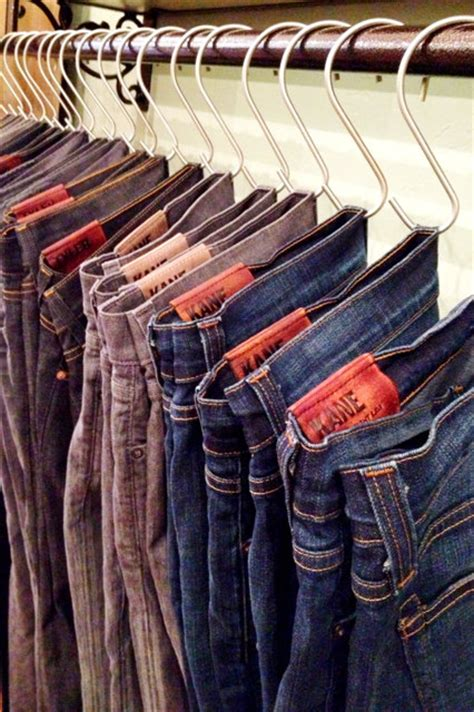 Jean Rack For Closet by 53 Insanely Clever Bedroom Storage Hacks And Solutions