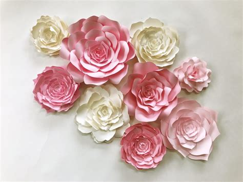 flowers decor paperflora paper flower walls backdrops and home decor