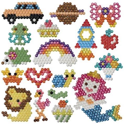 Muster Weben Vorlagen Aquabeads K 252 Nstlerkoffer Mit 1200 Perlen 6 Motive