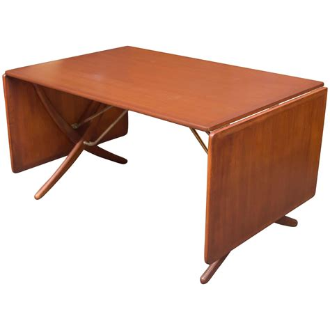Han Table hans wegner dining table model at 304 by andreas tuck for