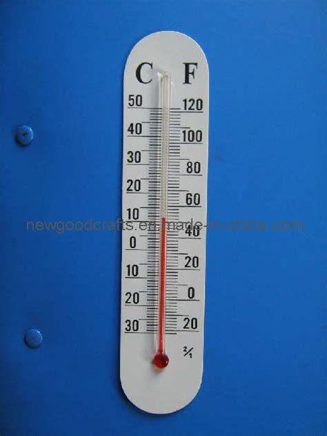 How To Make A Paper Thermometer - stick on thermometers for crafts