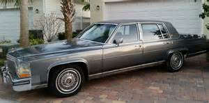 1988 Cadillac Brougham D Elegance 1988 Cadillac Brougham D Elegance Sedan 4 Door Gray Vinyl