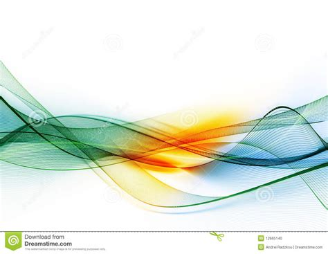 color waves colour waves stock illustration image of color modern