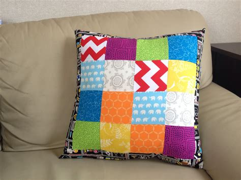 Sewing Cushion Covers by Sewing With A Finished Cushion Cover Blossom