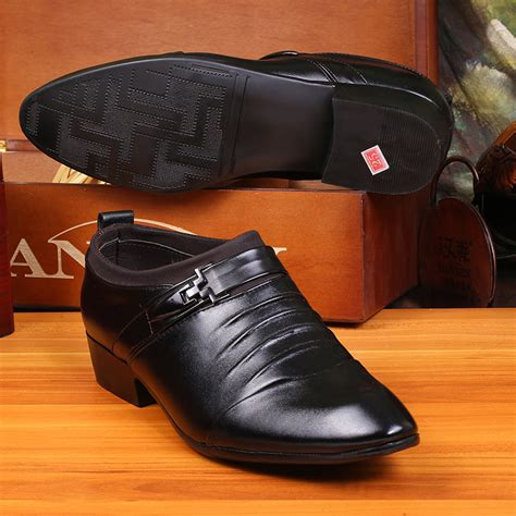 new high end business casual shoes s faux leather