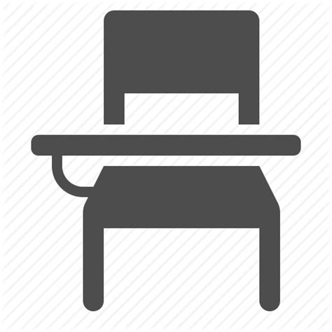 Desk Icons by Bench Chair Classroom Desk Icon Icon Search Engine