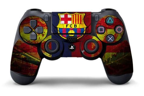 manette ps4 fc barcelone neymar sticker fc barcelone pour manette de playstation 4