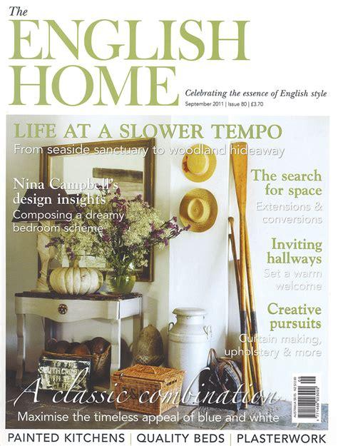 English Home Interior Design English Home Mark Gillette