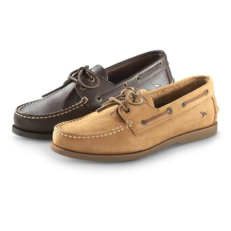 mens rugged shoes s rugged shark classic boat shoes 614944 boat water shoes at sportsman s guide