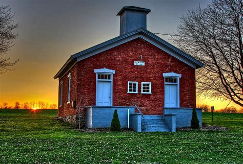 School House by One Room School House Photograph By Steve Ratliff