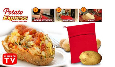 Potato Tv by Potato Express Microwave Potato In Just 4 Minutes K Colly