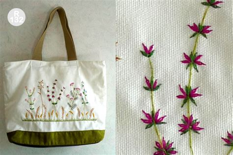 Handmade Embroidery Patterns - handmade shoulder bag embroidery designs gift nr