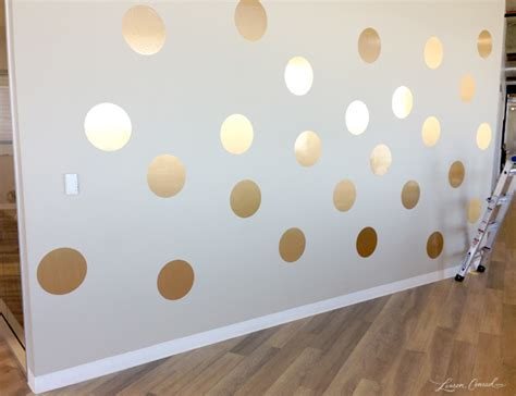how to paint polka dots on bedroom walls office makeover our lc com d 233 cor updates lauren conrad