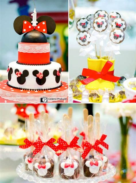minnie mouse themed birthday decorations minnie mouse themed birthday karas ideas the