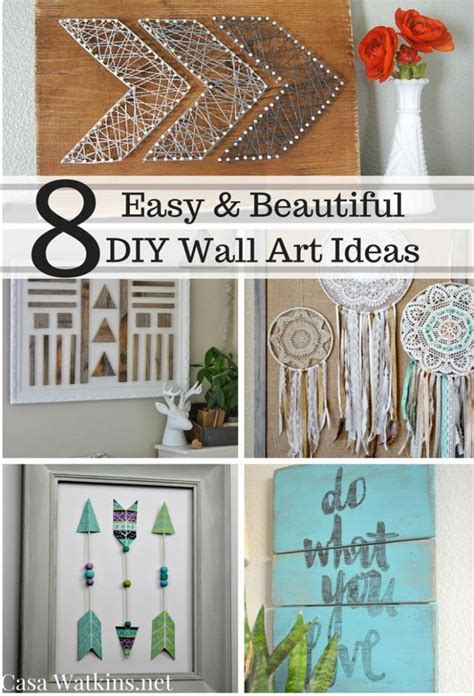 best 25 diy wall decor ideas on pinterest picture frame photo gallery of diy wall art viewing 5 of 20 photos