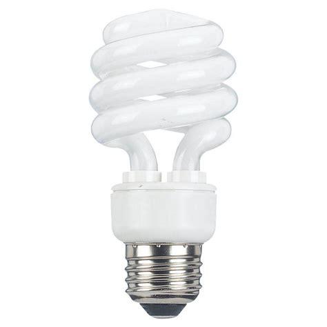 bathroom fluorescent light bulb sea gull lighting 2 in e25 13 watt bright white 2700k linear fluorescent light bulb