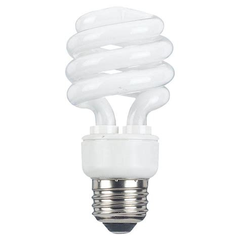 Fluorescent Bulbs Sea Gull Lighting 2 In E25 13 Watt Bright White 2700k