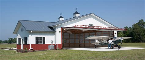 Metal Shop With Living Quarters Floor Plans by Airplane Hangar Morton Buildings