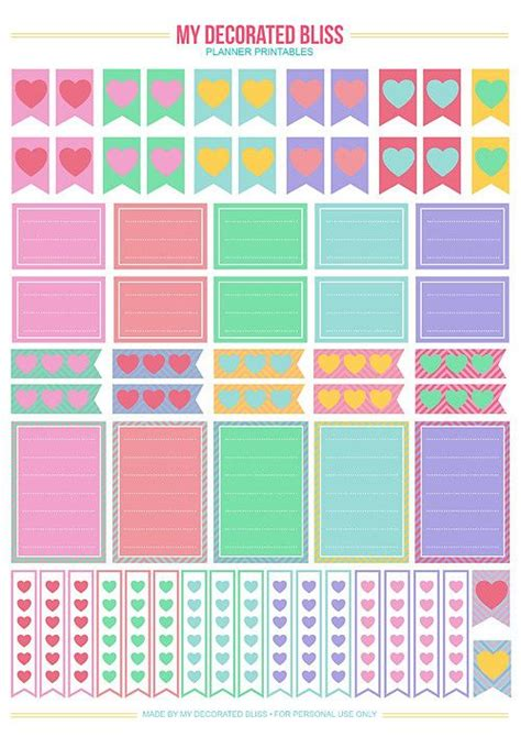 happy planner free printable stickers 17 best images about free printables on pinterest free