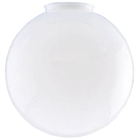 L Globes Home Depot by Westinghouse 10 In White Acrylic Globe With 4 In Fitter