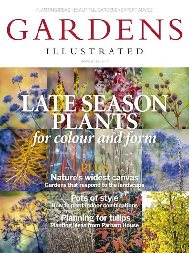 gardens illustrated gardens illustrated magazine november 2017 subscriptions pocketmags
