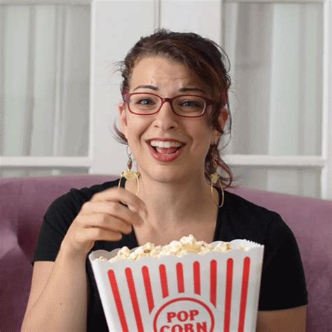 anita sarkeesian finds  amusing popcorn gifs